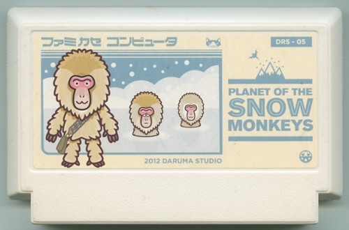 Planet of The Snow Monkeys Cart Image