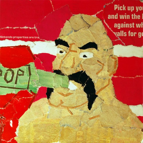 Punch-Out! Collages By Artist Chris Lange Soda Image