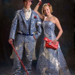 Shiny Prom Dress