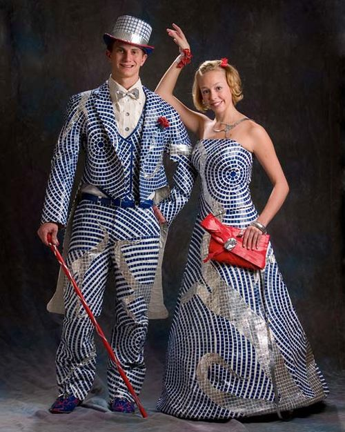 Shiny Prom Dress | Walyou