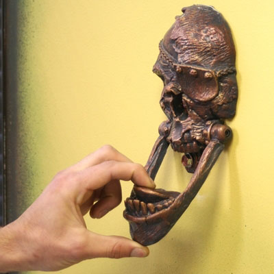 Skull-Door-Knocker