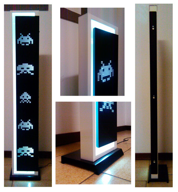 Space-Invaders-LED-Floor-Lamp
