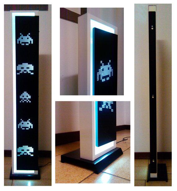 Space-Invaders-LED-Floor-Lamp