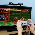 Super Famicom Wii Controller In Use Image 1