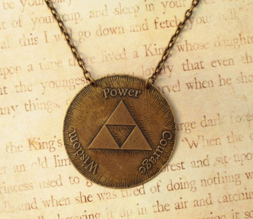 Triforce medallion by Fortesgospel Image