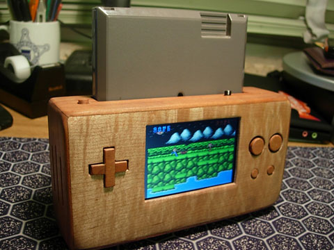 Wooden-Portable-NES