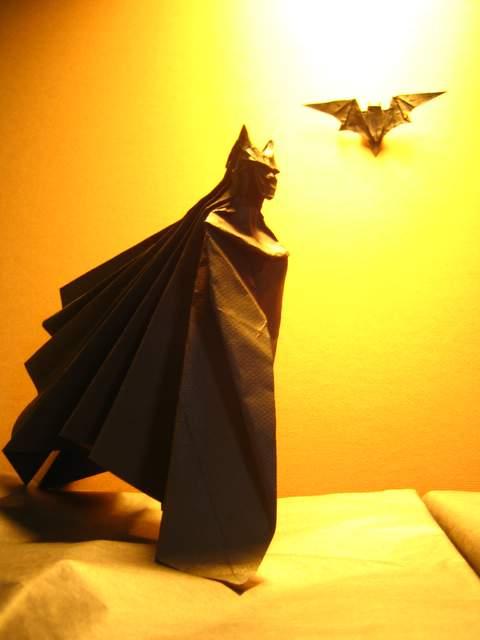 batman-origami