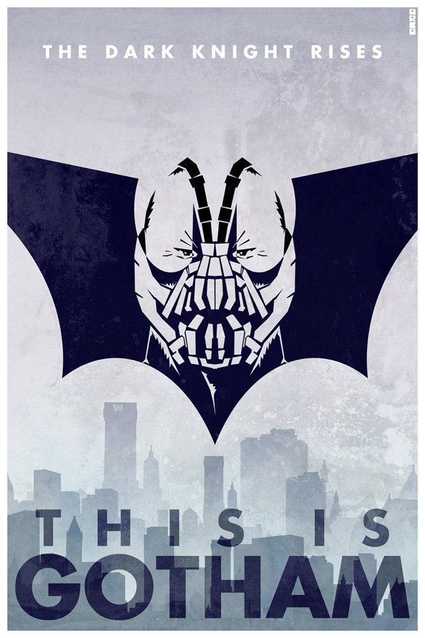 "Alternative poster for ""The Dark Knight Rises"""