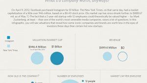 company value infographic