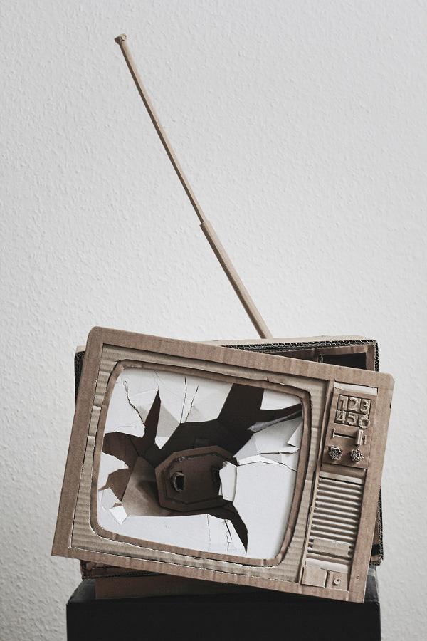 smashed-tv-paper-craft