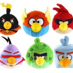 Angry birds space plushies