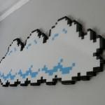 Awesome 8-Bit Super Mario Bros Cloud Art 2
