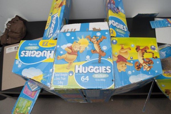 Awesome-AT-AT-Made-Out-Of-Leftover-Diaper-Boxes-2