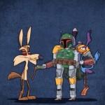 Bobba Fett Looney Tunes