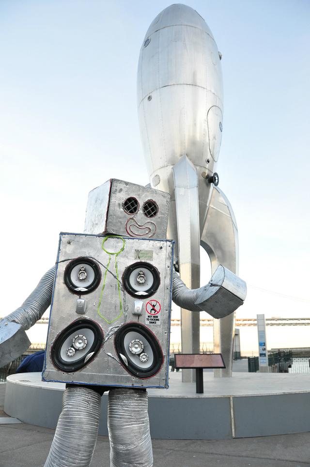 Dance party robot