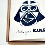 Father's Day card – Darth Vader
