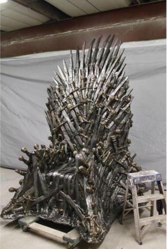 Iron Throne Sculpture 2