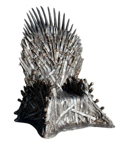 Iron Throne Sculpture