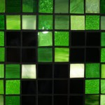 Mosaic Minecraft Stained Glass Window 1