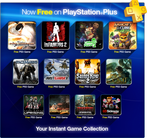 PlayStation Plus Free Game Collection Image