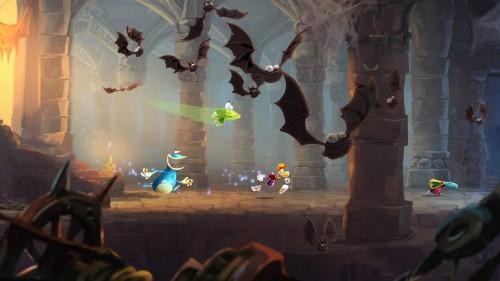 Rayman Legends bats Image