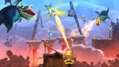Rayman Legends dragon attack Image