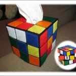 Rubik's cube tissue box 1