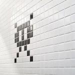 Space Invader Bathroom 3