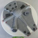 Star Wars Millenium Falcon Cake Topper