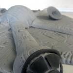 Star Wars Millenium Falcon Cake Topper 2