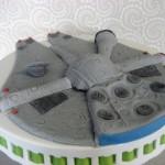 Star Wars Millenium Falcon Cake Topper 3