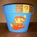 Super Mario Flower Pot