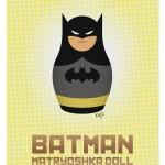 Superhero-Matryoshka-Dolls-Batman