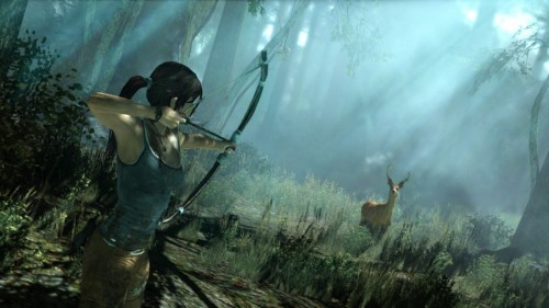 Tomb Raider 2013 deer hunting Image