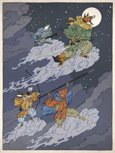 Ukiyo-e Heroes Jed Henry Star Fox Image