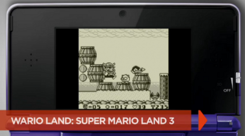 Wario Land 3ds Virtual Console Image