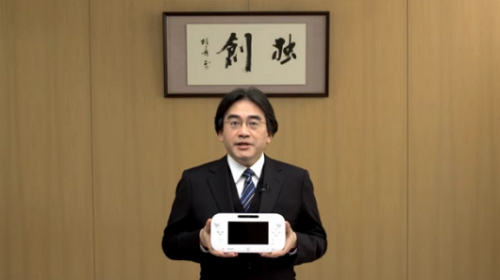 Wii U Gamepad Iwata Nintendo Direct Pre E3 Image 1