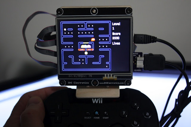 Wii classic controller console