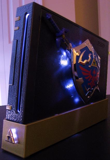 Zelda Case Mod Wii