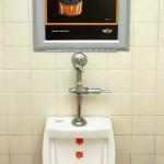 creative bathroom advertising