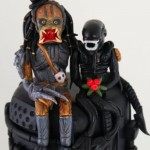 alien and predator cake 2