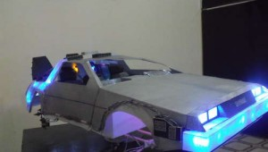 RC Paper Delorean
