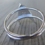 star trek silver ring 5