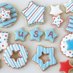 4th of July Star Cookies desserts