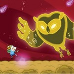 Adventure Time 3DS game owl Image
