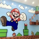 Amazing 3D Super Mario Bros Mural