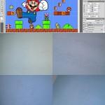 Amazing 3D Super Mario Bros Mural 2