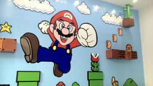 Amazing 3D Super Mario Bros Mural