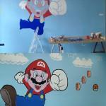 Amazing 3D Super Mario Bros Mural 4