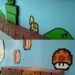 Amazing 3D Super Mario Bros Mural 6
